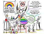 Gay Pride Day Cartoon