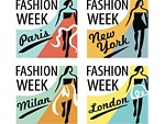Spring Fashion Week Logos